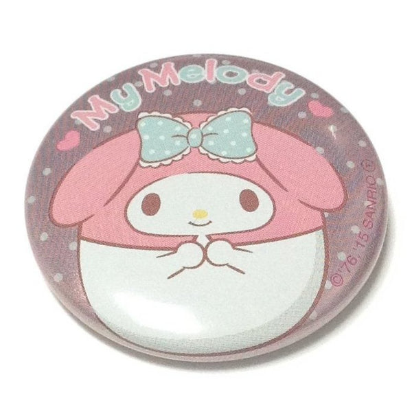 Round My Melody Tin Badge from Sanrio
