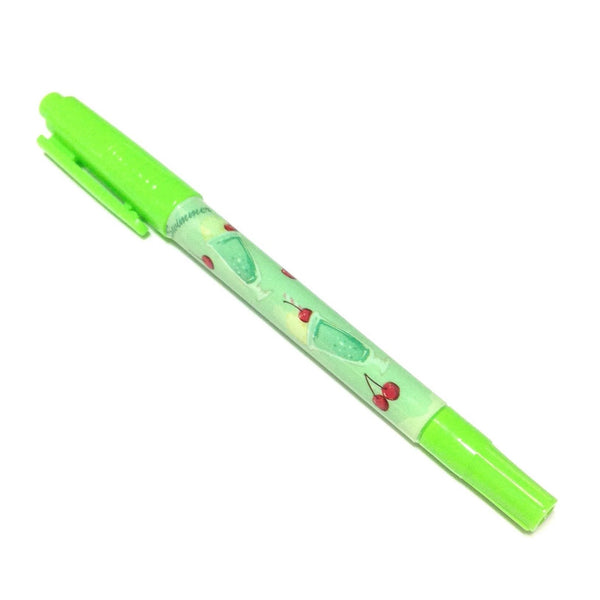 Run Run Oily Pen (Cherry Melon Soda) in Light Green from SWIMMER