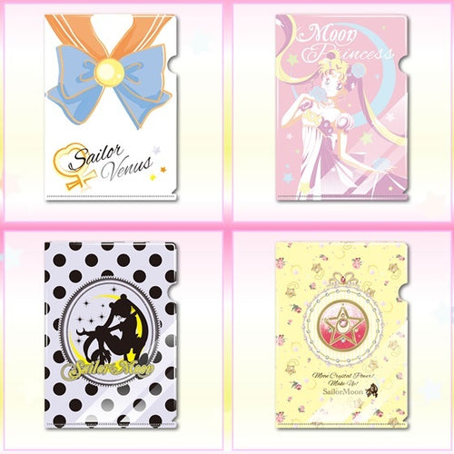 Sailor Moon Gashapon Goods (A5 Clearfile)