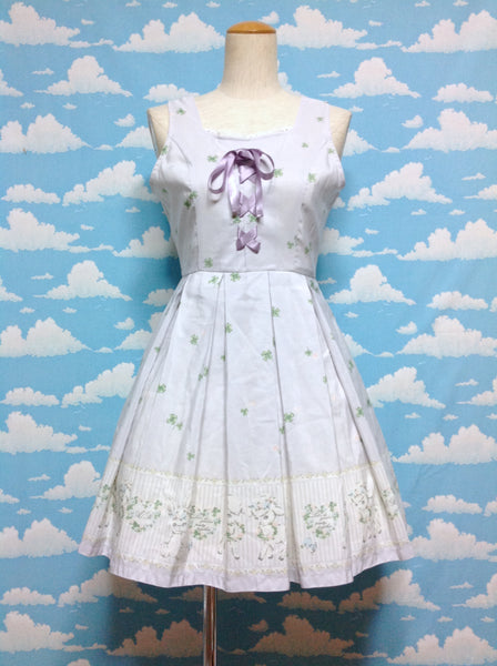Sheep and Bunny Garden Party JSK in Lavender from Ank Rouge