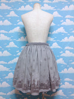 Snow City Ribbon Skirt in Grey from Axes Femme