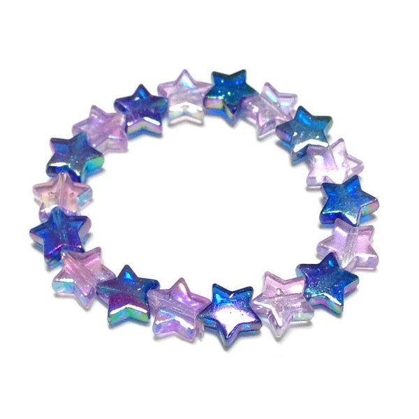 Star Shower Bracelet in Mix (Navy x Lavender) from Pastel Skies