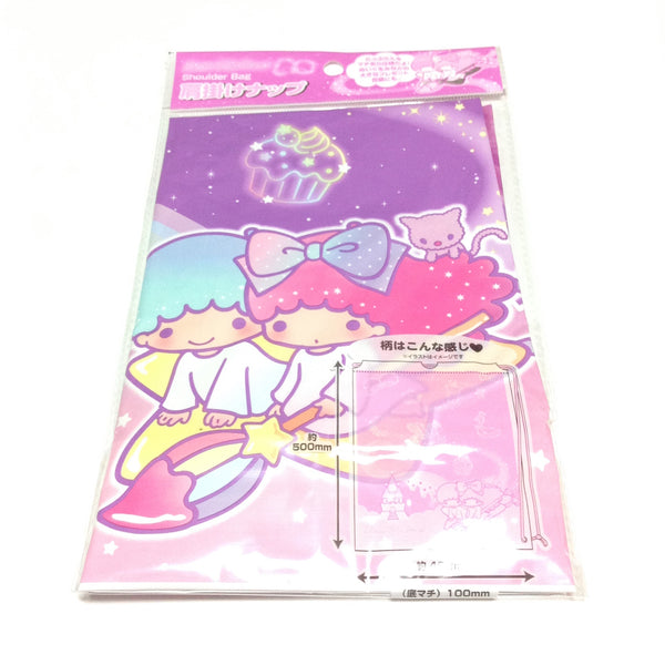 Little Twin Stars Shoulder Bag (Starry Night) from Sanrio