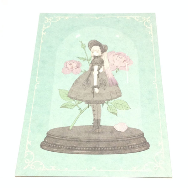 """Sugar Coated Rose"" Postcard from Imai Kira (PC-77)"