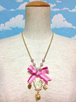 Tea Pot Necklace in Pink from Angelic Pretty