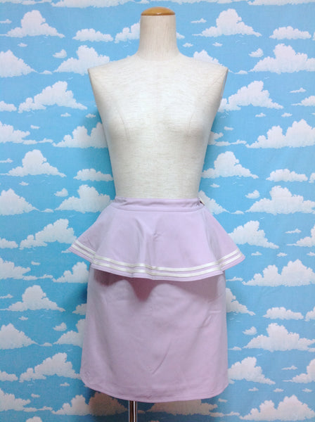 Tiered Heart Button Skirt in Lavender from F.i.n.t