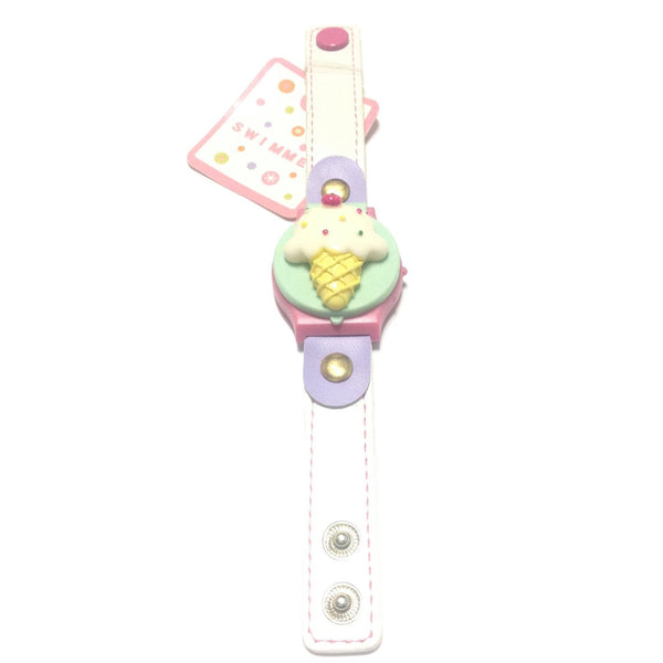 Toy Watch (Ice Cream) in White from SWIMMER