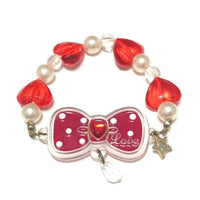 Twinkle Accessory Bracelet (Red Ribbon) from SWIMMER
