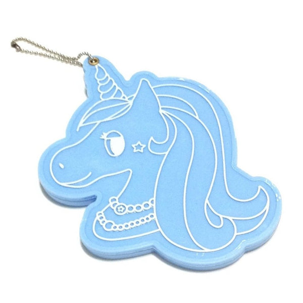 Unicorn Keyring Mirror in Sax