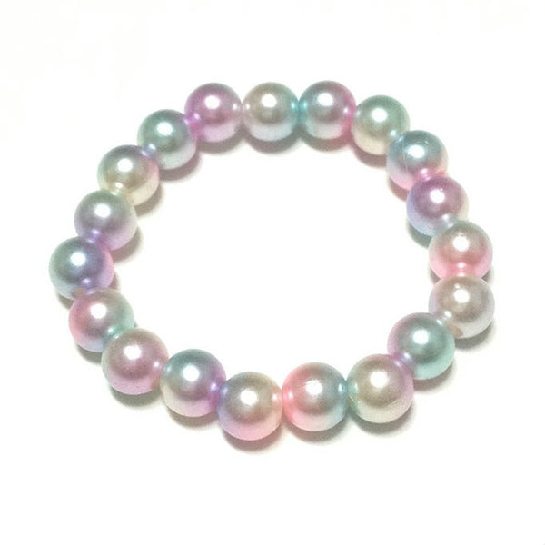 Unicorn Pearl Pastel Bracelet from Pastel Skies