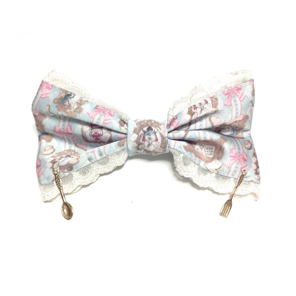Upside Down Alice Story Barrette in Sax from Angelic Pretty x Disney