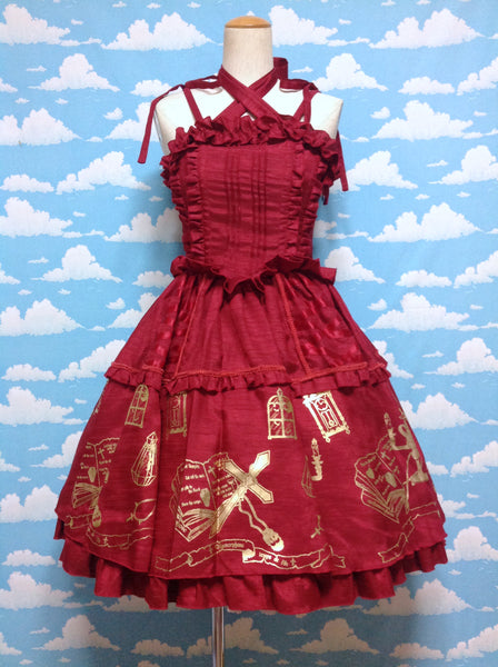 Vampire JSK in Red from Metamorphose Temps de Fille