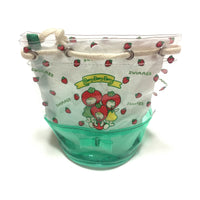 Vinyl Bag Pouch in Mint (Strawberry) from SWIMMER
