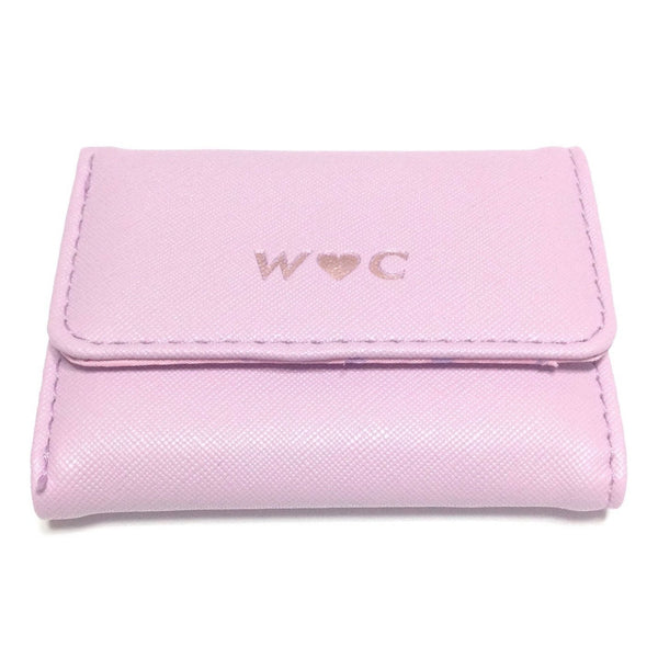 Wallet in Lavender x Pink from W♥C