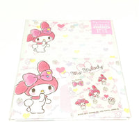 My Melody Letter Set (Kyun Kyun Print) in White from Sanrio
