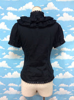 Wonder Treasure Blouse in Black from Alice and the Pirates