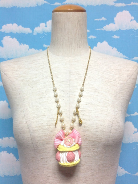 Ispahan Necklace in Yellow from HEXENHAUS