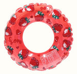 Doki Doki Swim Ring (Strawberry) in Red from SWIMMER