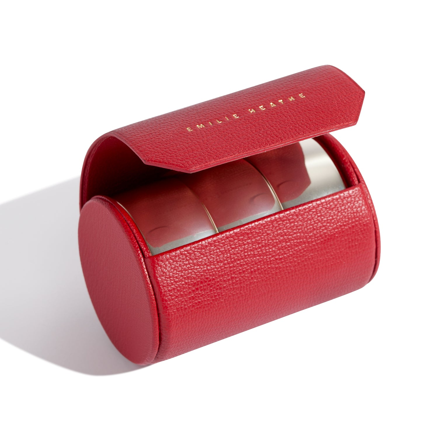 THE PERFECT RED CASE-the artist leather magnetic case emilie heathe
