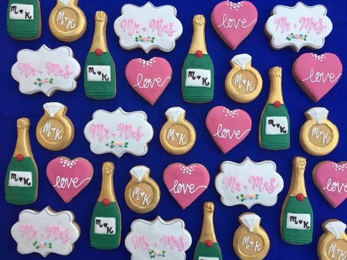 Personalised Engagement Biscuits (4)