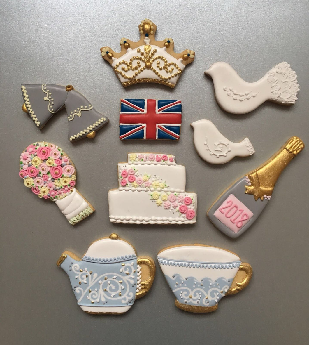 Royal Wedding Biscuit Set
