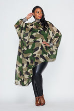 Load image into Gallery viewer, Camouflage Tunic