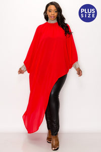 Red Glam Tunic