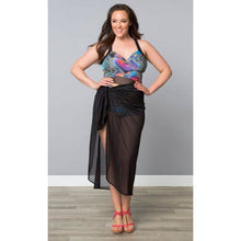 Load image into Gallery viewer, Swim Wrap Cover Up - Kurvacious Boutique