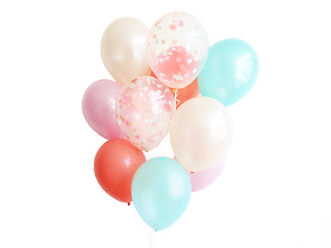 Peach Mint Balloon Bundle
