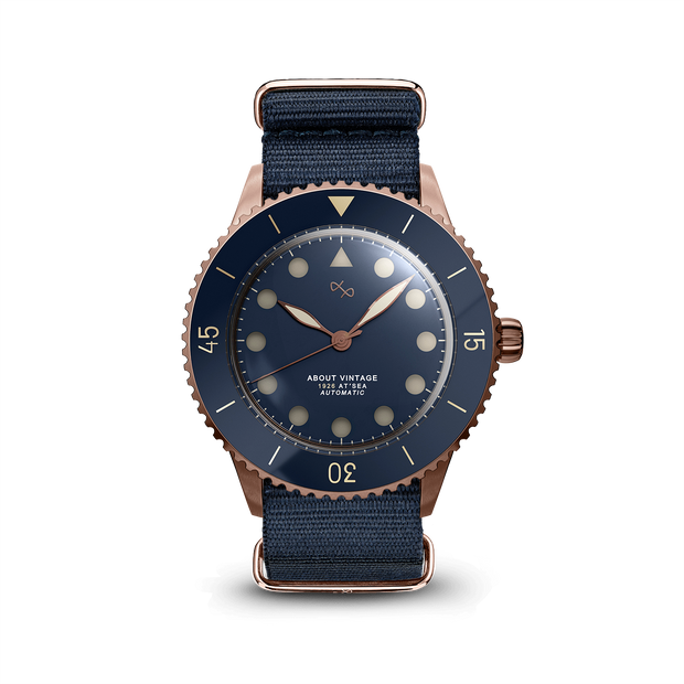 1926 Automatic, Rose Gold / Blue Vintage