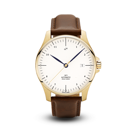 1971 Automatic, Gold / White - Swiss Made