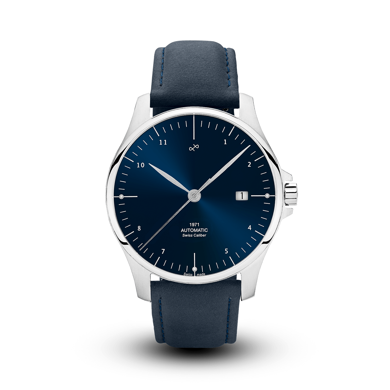 1971 Automatic, Steel / Night Blue - Swiss Made