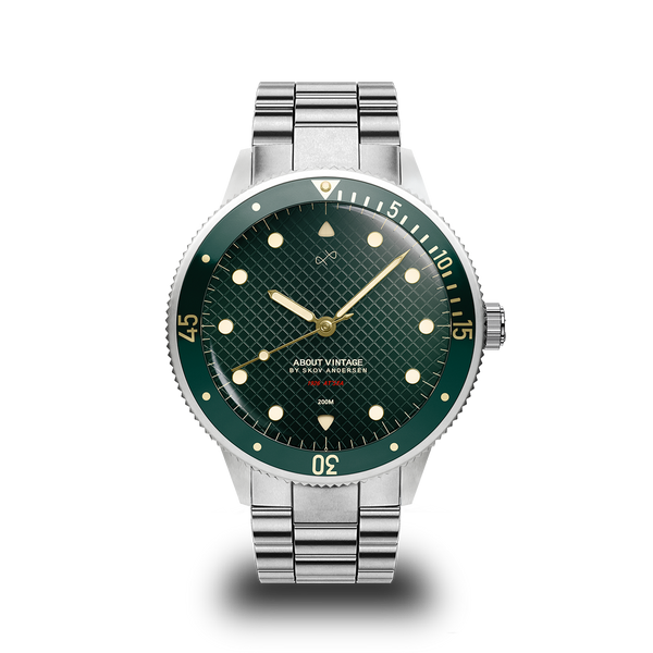 1926 At'sea, Steel / Green Turtle Vintage – 42mm