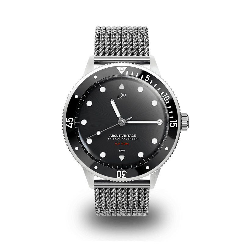 1926 At'sea, Steel / Black – 42mm