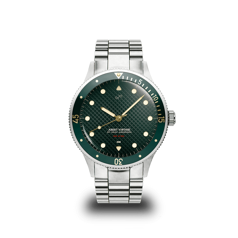 1926 At'sea, Steel / Green Turtle Vintage – 36mm