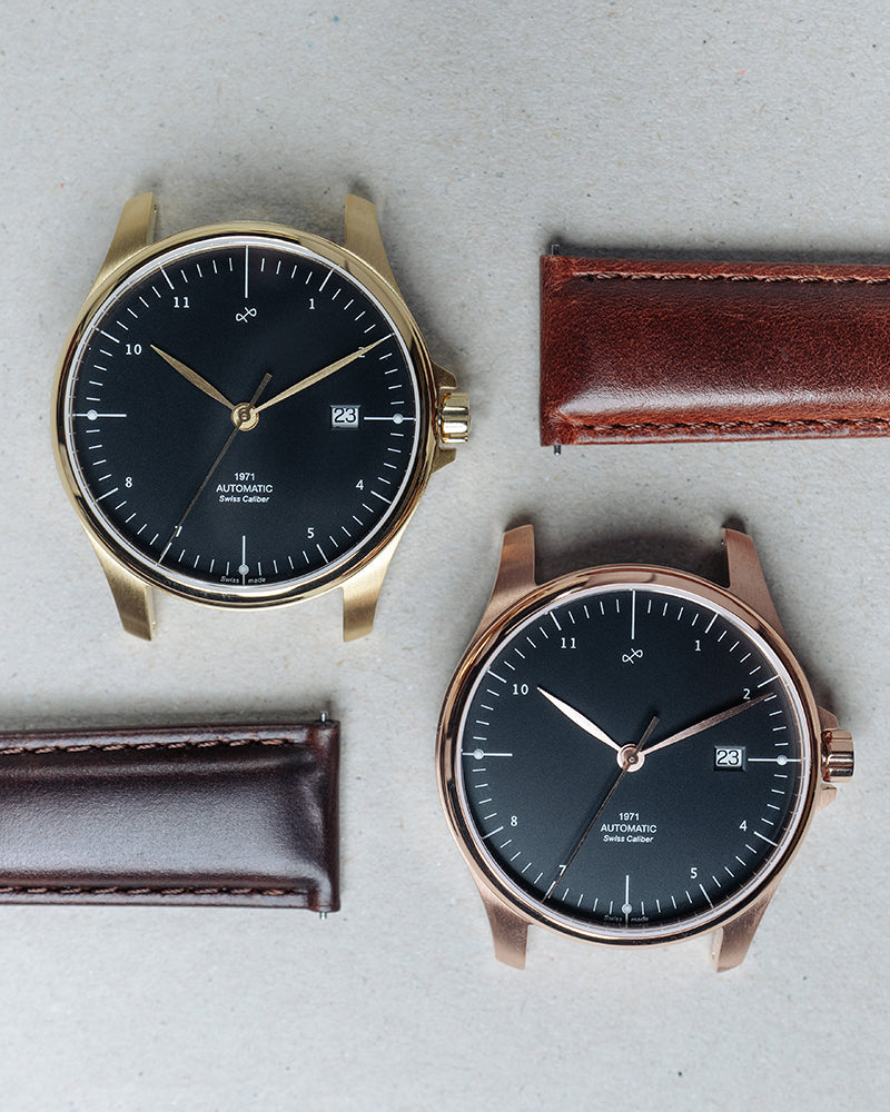 1971 Automatic, Rose Gold / Black - Swiss Made