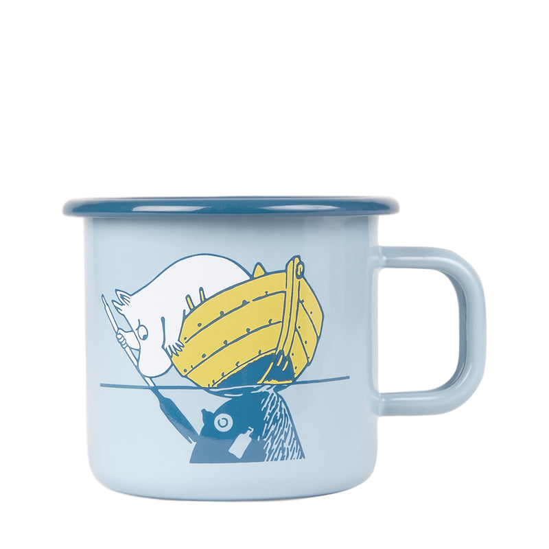 Enamel Mug 37 CL, Our Sea
