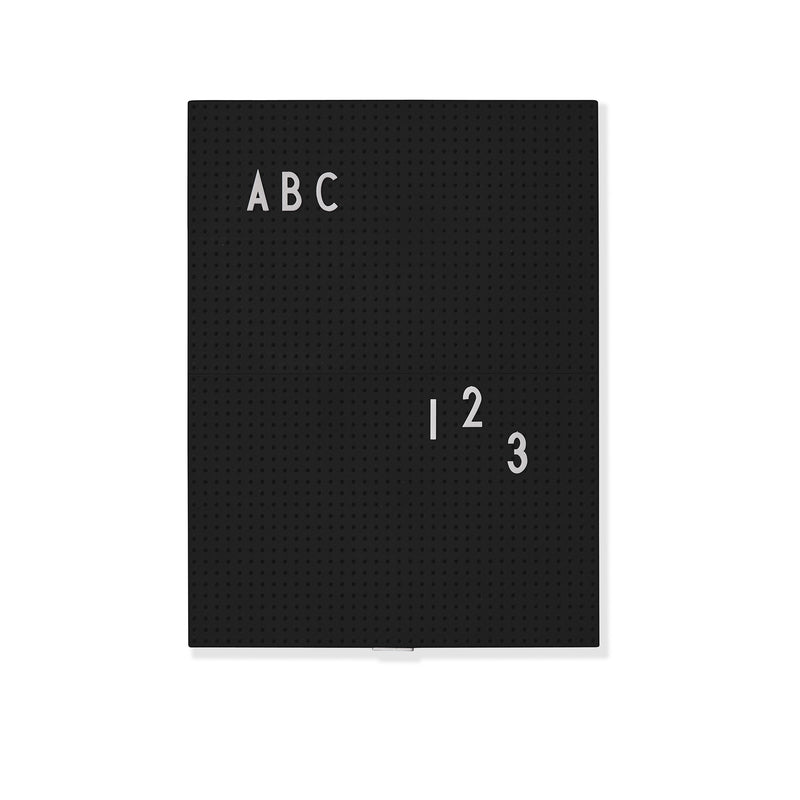 Message Board Black A4
