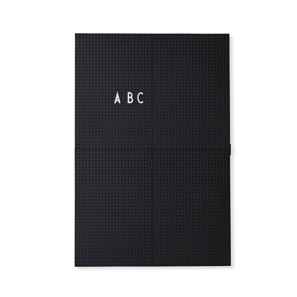 Message Board Black A3
