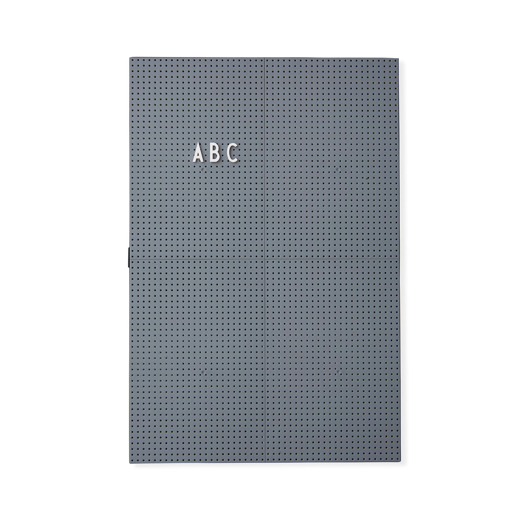 Message Board Dark Grey A3