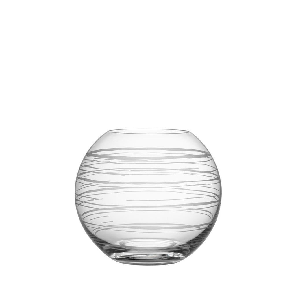 Graphic Globe Vase Medium