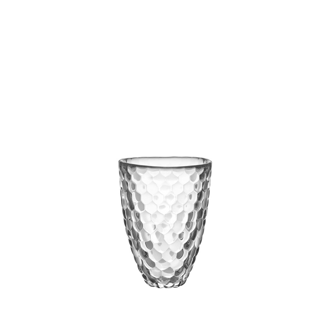 Raspberry Vase Clear Small