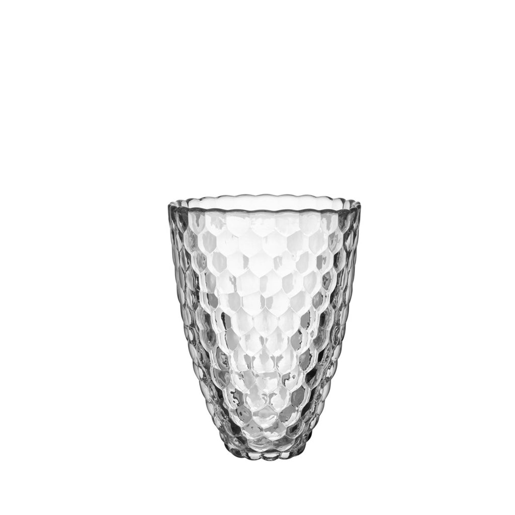 Raspberry Vase Clear Large