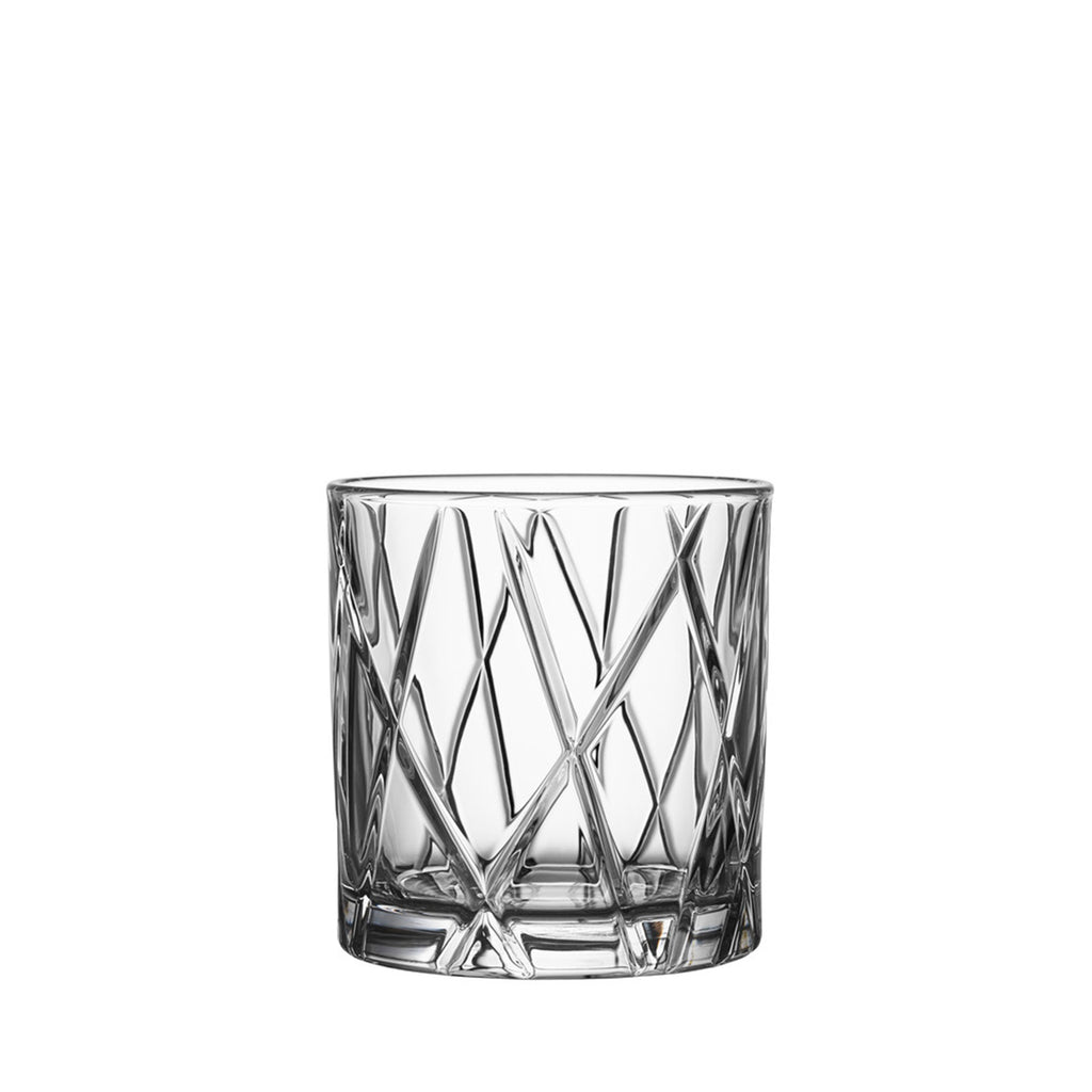 City Double Old Fashioned Set of 4