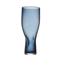 Squeeze Vase Large Blue