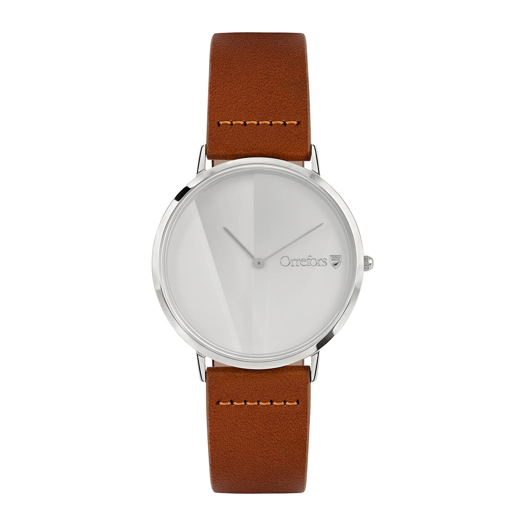 O-Time Watch - Brandy/White