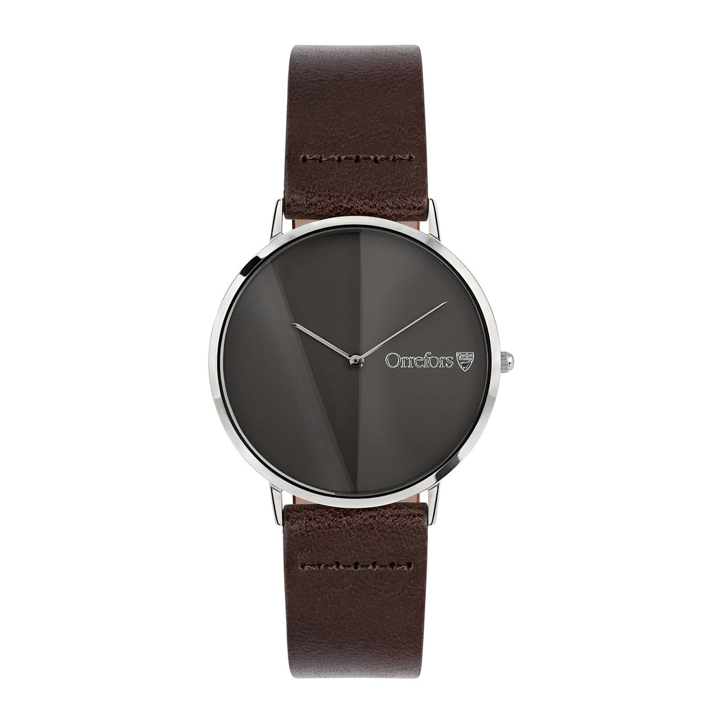 O-Time Watch - Chestnut/Gun Metal