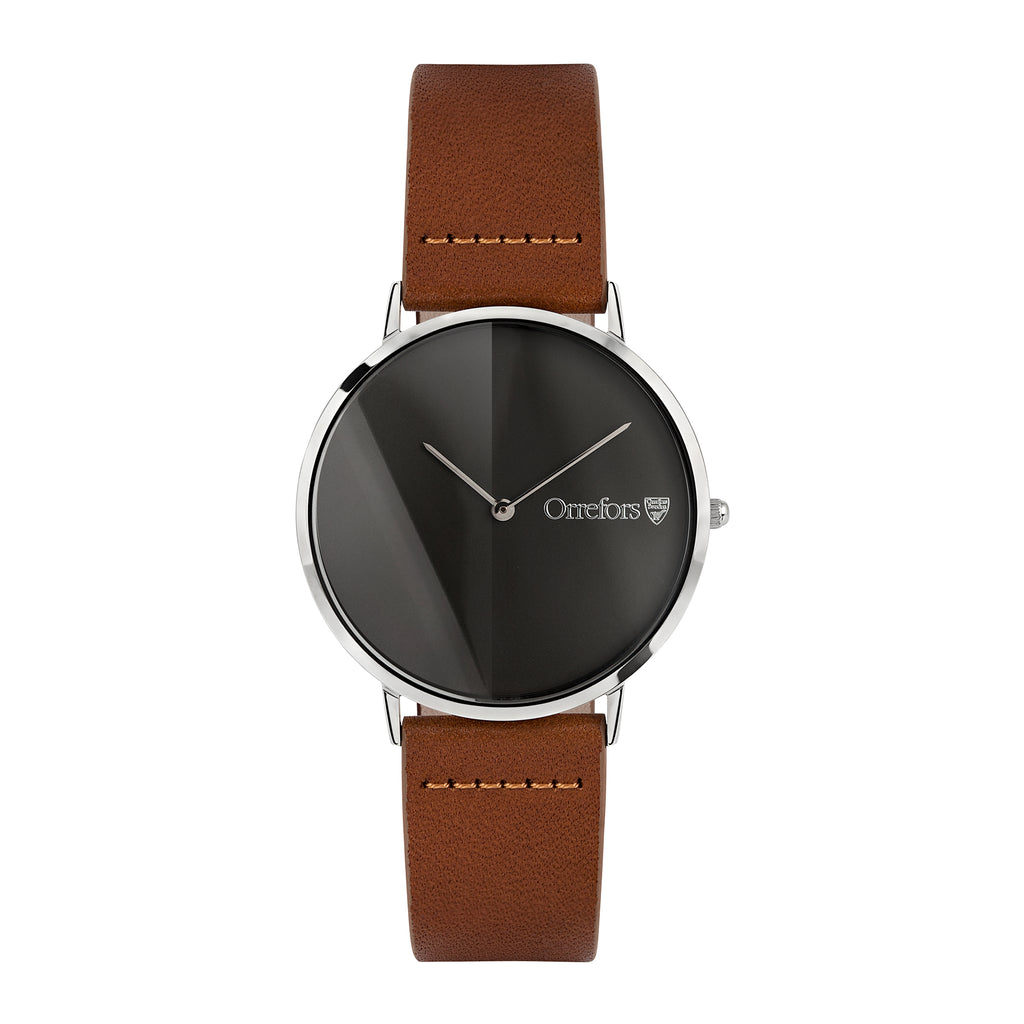 O-Time Watch - Brandy/Gun Metal