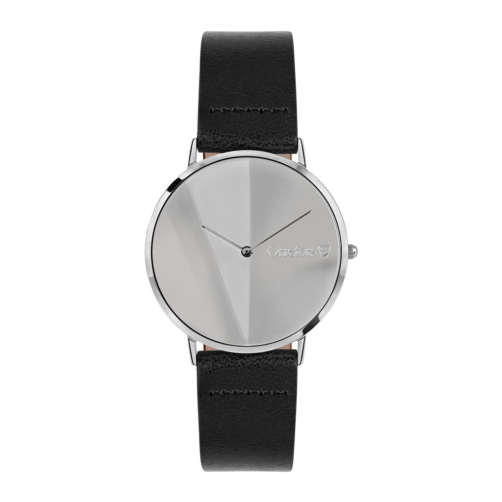 O-Time Watch - Black/Mirror