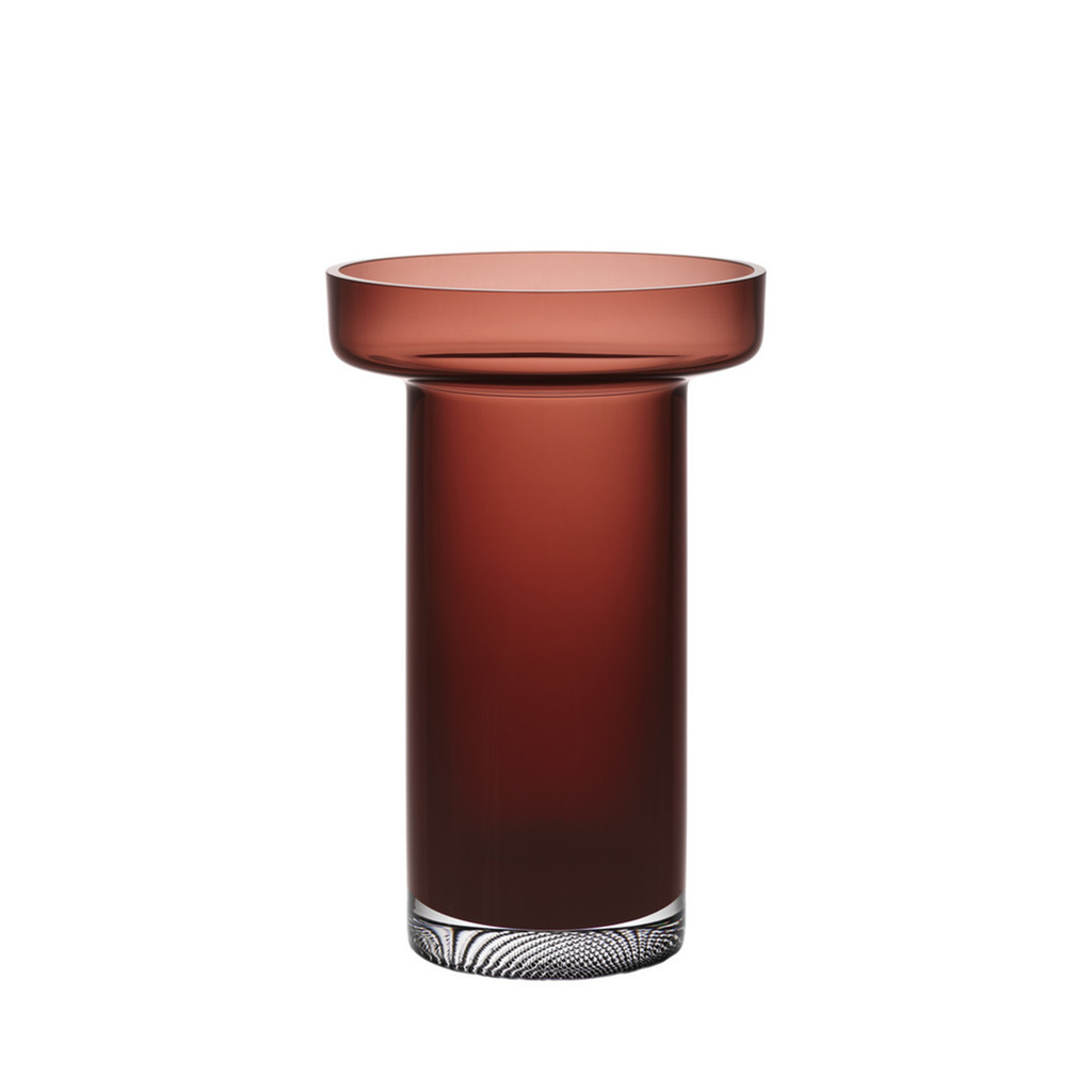 Limelight Rose Vase Caramel